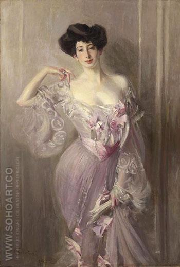 Portrait of Ena Wertheimer - Giovanni Boldini reproduction oil painting