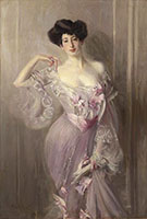 Portrait of Ena Wertheimer - Giovanni Boldini