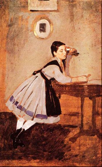 Alaide Convalescent - Giovanni Boldini reproduction oil painting