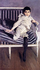 The Young Supercaseaux - Giovanni Boldini reproduction oil painting
