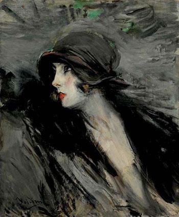 Ritratto di Suzy - Giovanni Boldini reproduction oil painting