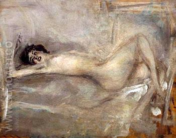Symphony In Grey - Giovanni Boldini reproduction oil painting
