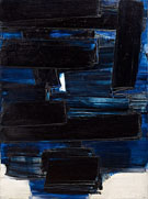 Black and Blue 2 - Pierre Soulages