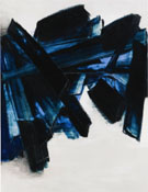 Black and Blue 1 - Pierre Soulages