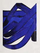 Blue Ribbon - Pierre Soulages