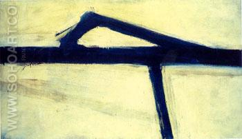 Untitled 1955 - Franz Kline reproduction oil painting
