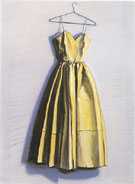 Yellow Dress - Wayne Thiebaud reproduction oil painting