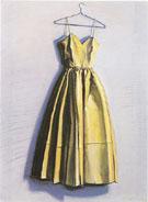 Yellow Dress - Wayne Thiebaud