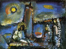 Christ on the Lake - George Rouault