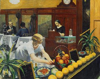 Table for Ladies 1930 - Edward Hopper reproduction oil painting