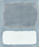 Untitled Blue Gray and White - Mark Rothko