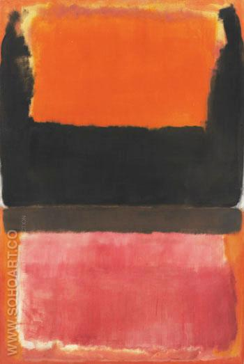 No. 21 Red, Brown, Black and Orange 1953 - Mark Rothko reproduction oil painting