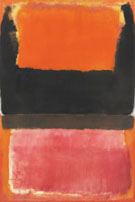 No. 21 Red, Brown, Black and Orange 1953 - Mark Rothko