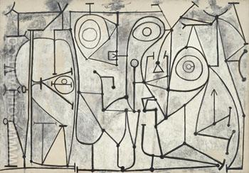 La Cuisine 1948 - Pablo Picasso reproduction oil painting
