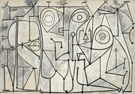 La Cuisine 1948 - Pablo Picasso