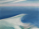 Blue Wave Maine Light Blue Sea 1926 - Georgia O'Keeffe