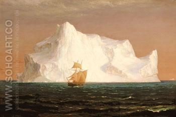 The Iceberg 1891 - Frederic E Church reproduction oil painting