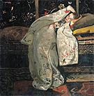 Girl in White Kimono 1894 - George Hendrik Breitner