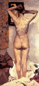 Standing Nude c 893 - George Hendrik Breitner