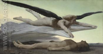 Equality before Death 1848 - William-Adolphe Bouguereau reproduction oil painting