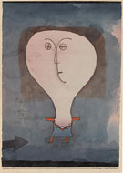 Fright of a Girl 1922 - Paul Klee