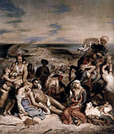 The Massacre at Chios 1824 - F.V.E. Delcroix