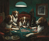 The Poker Game - Cassius Marcellus Coolidge