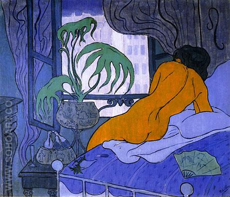 The Blue Room 1891 Paul Elie Ranson Reproduction Oil Painting