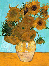 Vase with Twelve Sunflowers c1889 - Vincent van Gogh
