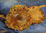 Two Sunflowers 1888 - Vincent van Gogh