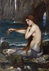 A Mermaid 1900 - John William Waterhouse