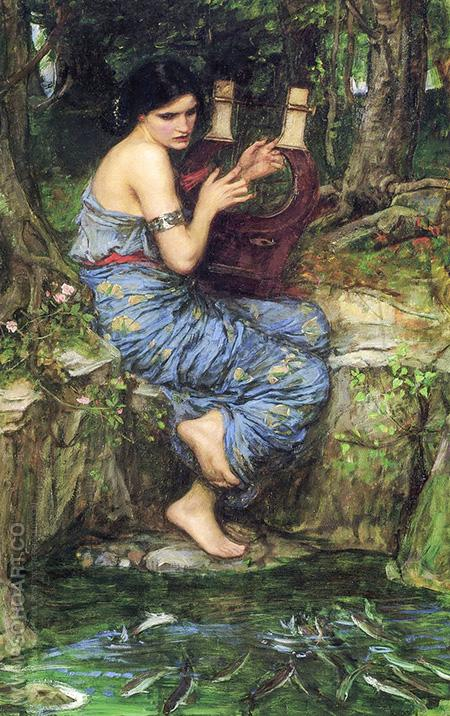 The Charmer 1911 - John William Waterhouse reproduction oil painting