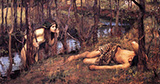 The Naiad 1893 - John William Waterhouse reproduction oil painting