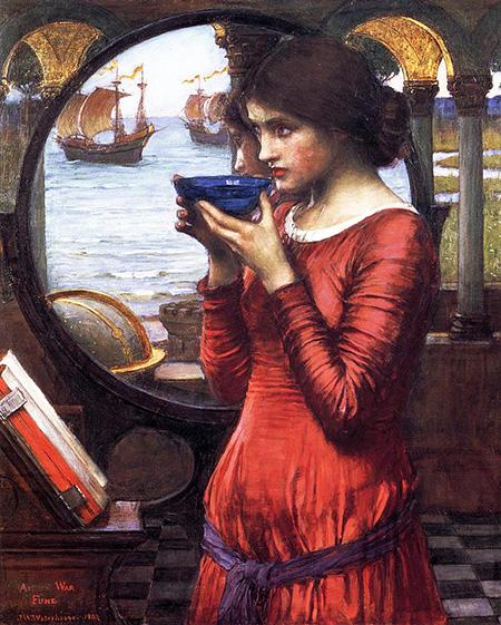 Destiny 1900 - John William Waterhouse reproduction oil painting