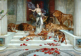 Wright Barker Circe 1900 - John William Waterhouse reproduction oil painting