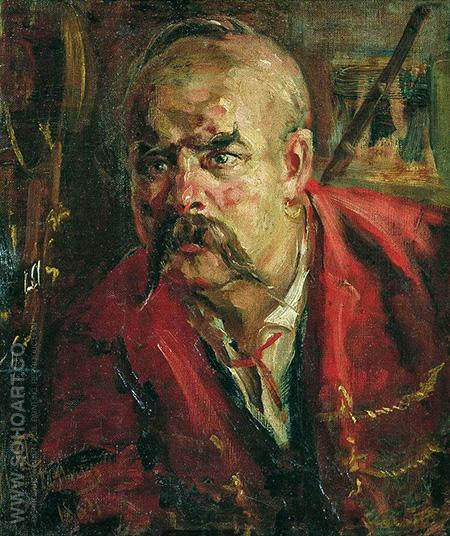 Zaporozhets 1884 - Ilya Repin reproduction oil painting