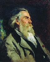Portrait of A.P. Bogolyubov - Ilya Repin