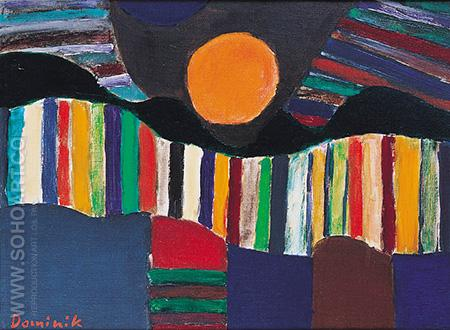 Sunny Composition - Tadeusz Dominik reproduction oil painting