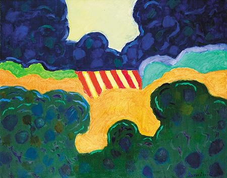 Landscape IV - Tadeusz Dominik reproduction oil painting