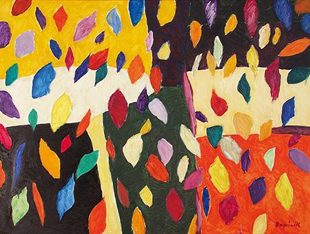 Autumn - Tadeusz Dominik reproduction oil painting