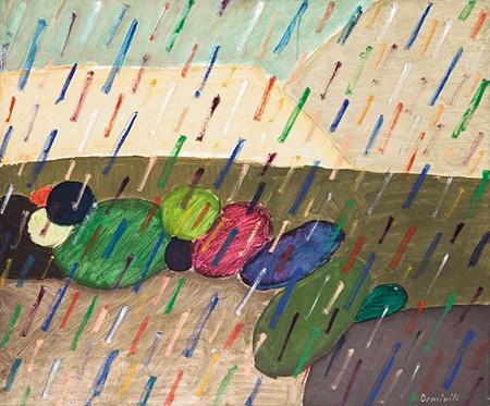 Rain 1991 - Tadeusz Dominik reproduction oil painting