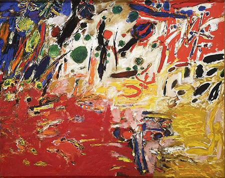 Garden 1958 - Tadeusz Dominik reproduction oil painting