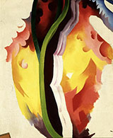 Untitled Abstraction c1923 - Georgia O'Keeffe reproduction oil painting