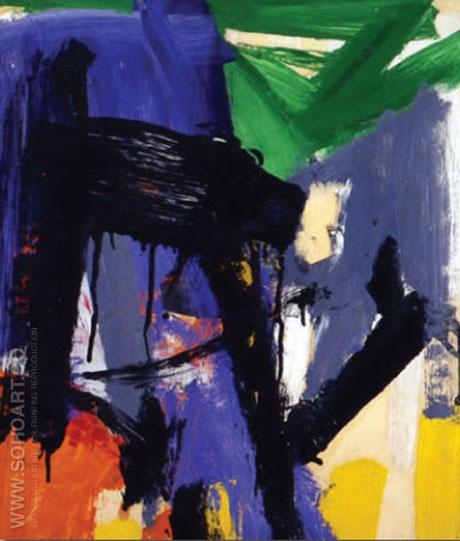 Untitled 1958 - Franz Kline reproduction oil painting