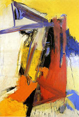 Yellow Orange Purple - Franz Kline