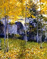 The Bridge at Grez 54 - Robert Vonnoh reproduction oil painting
