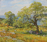 A Seaside Pasture - Robert Vonnoh