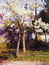 Trees at Gertz 1890 - Robert Vonnoh