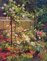 Jardin en Fleurs 1890 - Robert Vonnoh