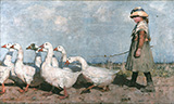 To Pastures New 1883 - James Guthrie